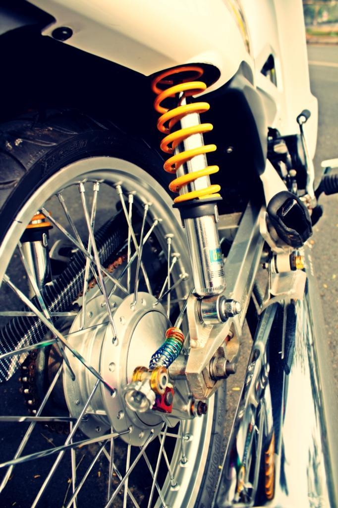 Honda wave trang tinh khoi - 6
