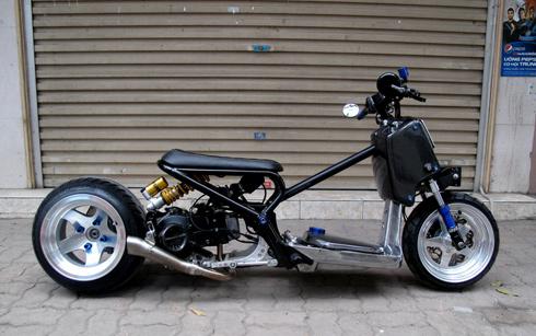 Honda Zommer X cua dan choi Ha Thanh