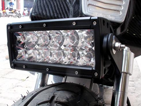 Honda Zommer X cua dan choi Ha Thanh - 4