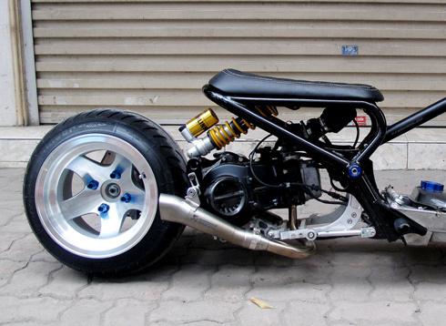 Honda Zommer X cua dan choi Ha Thanh - 6