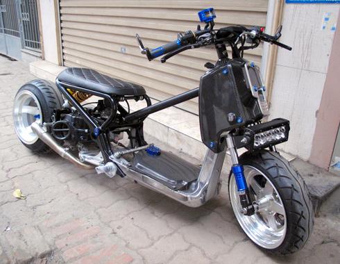 Honda Zommer X cua dan choi Ha Thanh - 8
