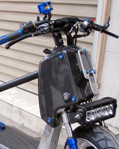 Honda Zommer X cua dan choi Ha Thanh - 9