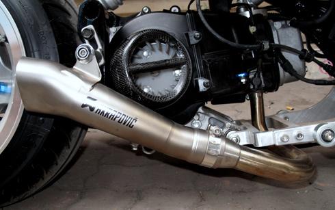 Honda Zommer X cua dan choi Ha Thanh - 10