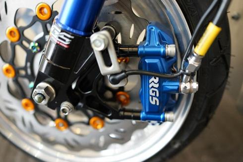 Honda Zommer X cua dan choi Ha Thanh - 11