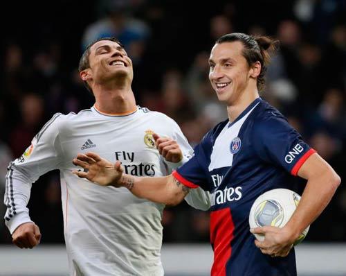 Ibrahimovic gop mat trong doi hinh tieu bieu Champions League 201314