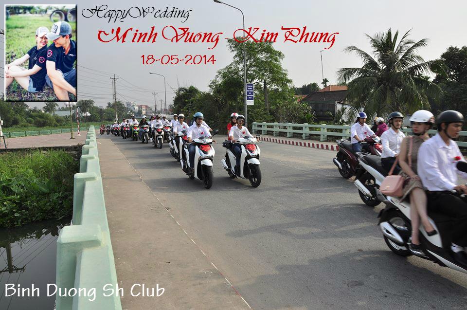 Le ruoc dau cua thanh vien Hoi Sh Binh Duong