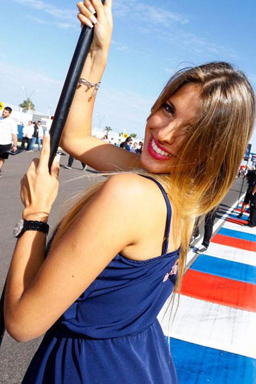 Nguoi dep khoe dang trong MotoGP 2014 tai Argentina - 8
