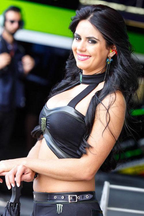 Nguoi dep khoe dang trong MotoGP 2014 tai Argentina - 10