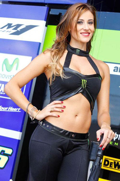Nguoi dep khoe dang trong MotoGP 2014 tai Argentina - 12