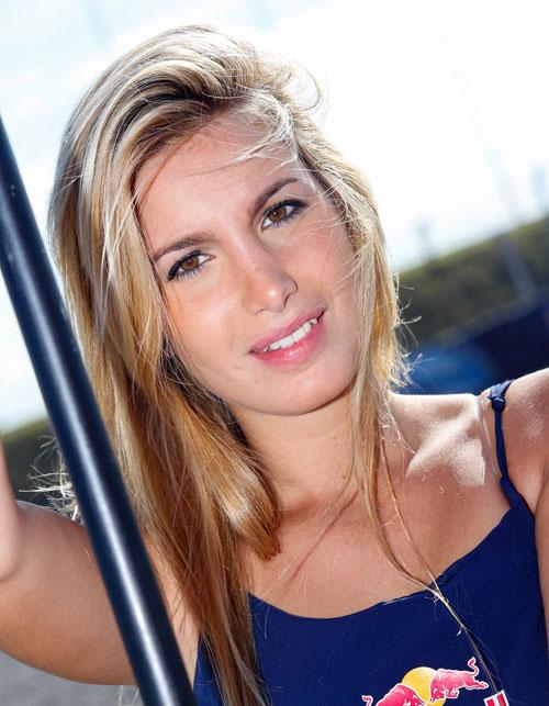 Nguoi dep khoe dang trong MotoGP 2014 tai Argentina - 14