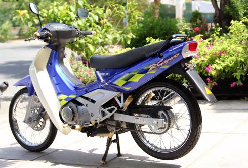 Suzuki RG Sport chua mot lan no may tai Viet Nam - 4