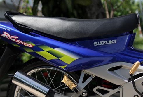 Suzuki RG Sport chua mot lan no may tai Viet Nam - 7