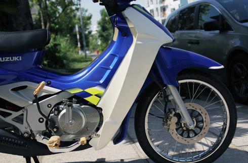 Suzuki RG Sport chua mot lan no may tai Viet Nam - 8