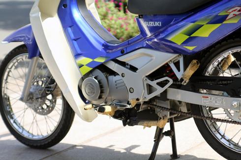Suzuki RG Sport chua mot lan no may tai Viet Nam - 11