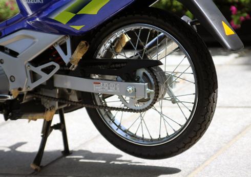 Suzuki RG Sport chua mot lan no may tai Viet Nam - 12