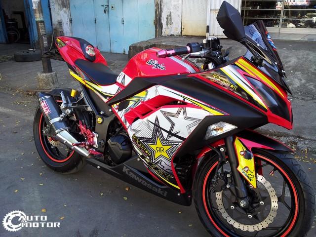 Vai con Kawasaki Ninja 250r do nhe - 2