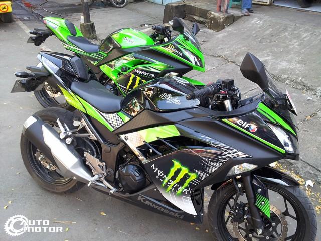 Vai con Kawasaki Ninja 250r do nhe - 3
