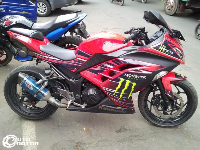 Vai con Kawasaki Ninja 250r do nhe - 4