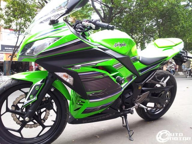 Vai con Kawasaki Ninja 250r do nhe - 5