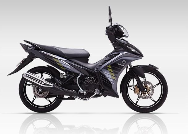 Yamaha Exciter 2014 phien ban con tay da co mau den va tem moi