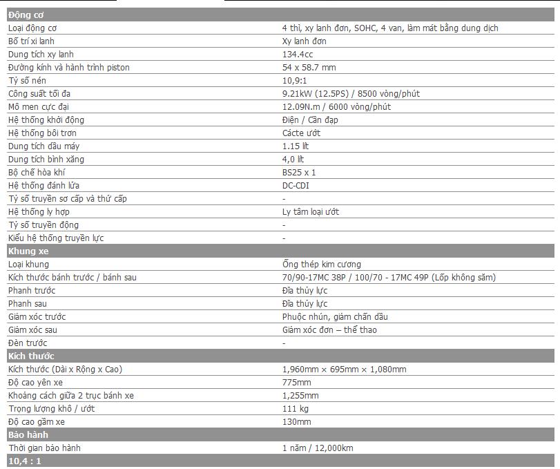Yamaha Exciter RC 2014 chinh thuc ra mat tai Viet Nam - 5