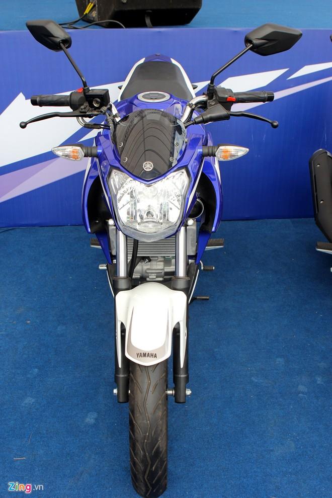 Yamaha FZ150i phien ban xanh GP tai Viet Nam - 2
