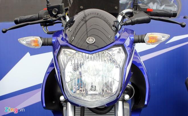 Yamaha FZ150i phien ban xanh GP tai Viet Nam - 3