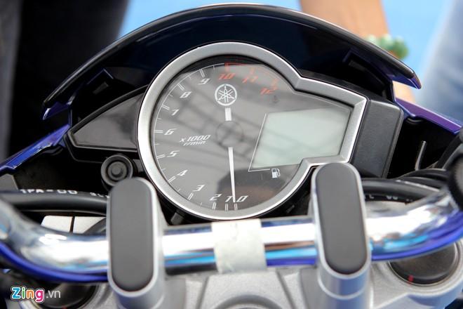 Yamaha FZ150i phien ban xanh GP tai Viet Nam - 6