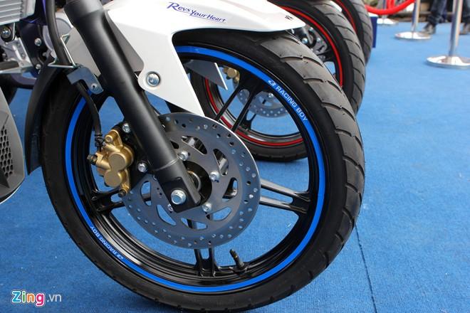 Yamaha FZ150i phien ban xanh GP tai Viet Nam - 7