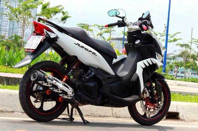 Yamaha Nouvo LX Super Sayan 4 Version - 3