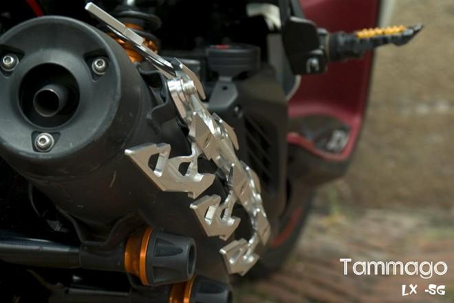 Yamaha Nouvo LX Super Sayan 4 Version - 4