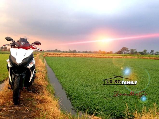 Yamaha Nouvo LX Super Sayan 4 Version - 6