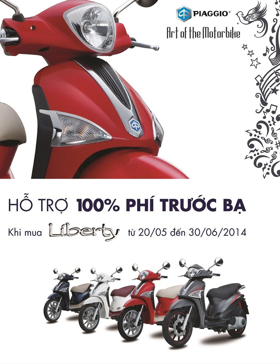 100 phi truoc ba danh cho Liberty Lai suat 0 Tai Piaggo Sapa - 3