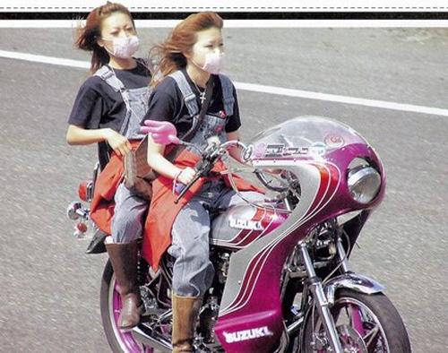 Bosozoku van hoa moto do duong pho cung phai dep Nhat - 5