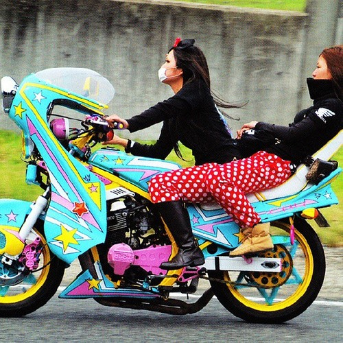 Bosozoku van hoa moto do duong pho cung phai dep Nhat - 9