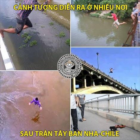 Chum anh che ve viec Tay Ban Nha bi loai som - 2