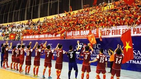 DT Futsal Viet Nam tham gia Giai dau quoc te tai Trung Quoc