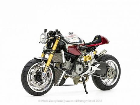 Ducati 1199 Panigale S cafe racer khong gi khong the - 2