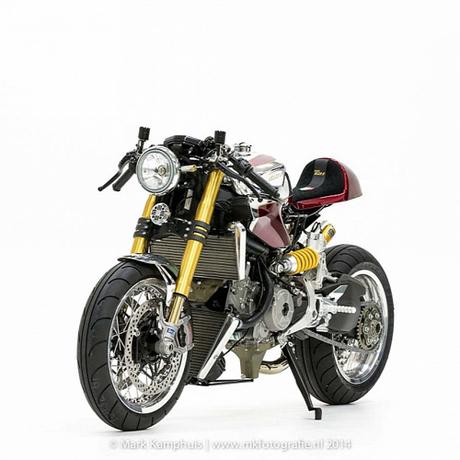 Ducati 1199 Panigale S cafe racer khong gi khong the - 3
