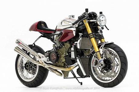 Ducati 1199 Panigale S cafe racer khong gi khong the - 4