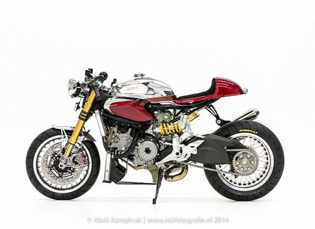 Ducati 1199 Panigale S cafe racer khong gi khong the - 5