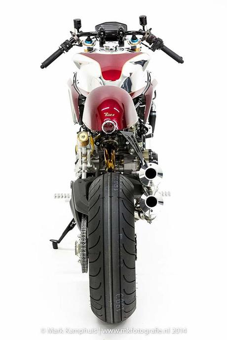 Ducati 1199 Panigale S cafe racer khong gi khong the - 11