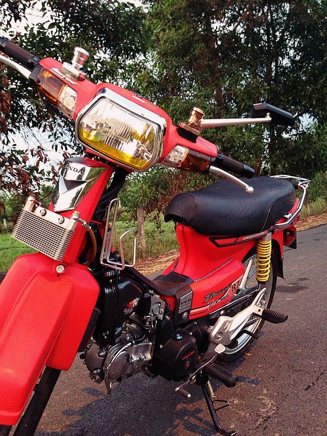 Honda dream do do kieng dinh cao chu chat - 3