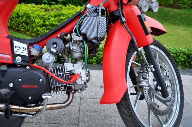 Honda dream do do kieng dinh cao chu chat - 5