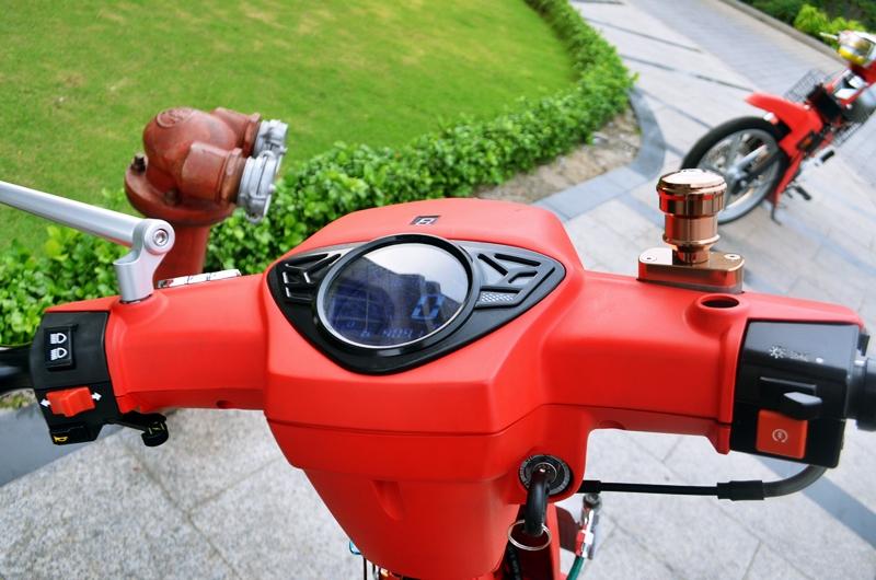 Honda dream do do kieng dinh cao chu chat - 7
