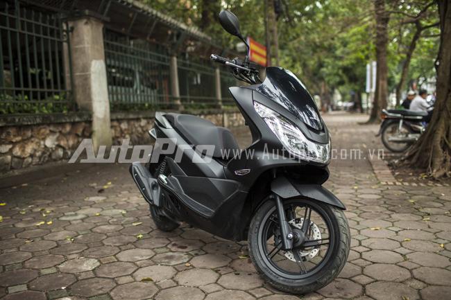 Honda PCX 125 2014 chiec scooter touring chat luong tai Viet Nam