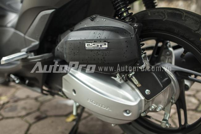 Honda PCX 125 2014 chiec scooter touring chat luong tai Viet Nam - 4