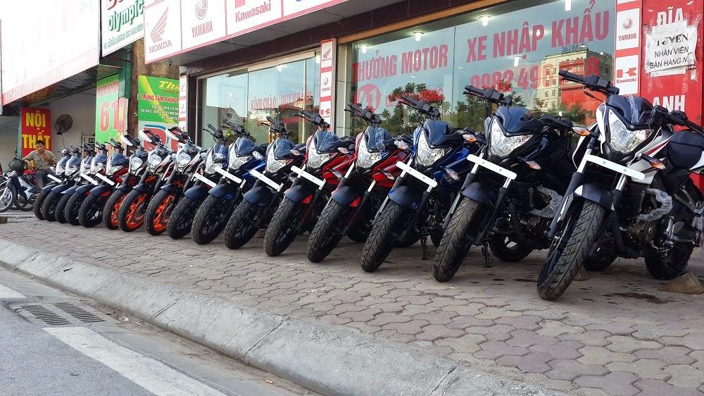 Minh Thuong Motor gioi thieu dan xe moi cho anh em