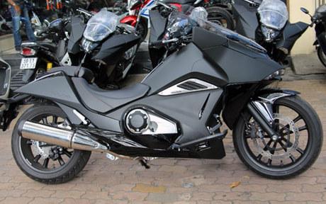 Scooter ham ho Honda NM4 2014 xuat hien o Sai Gon