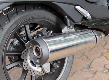Scooter ham ho Honda NM4 2014 xuat hien o Sai Gon - 10